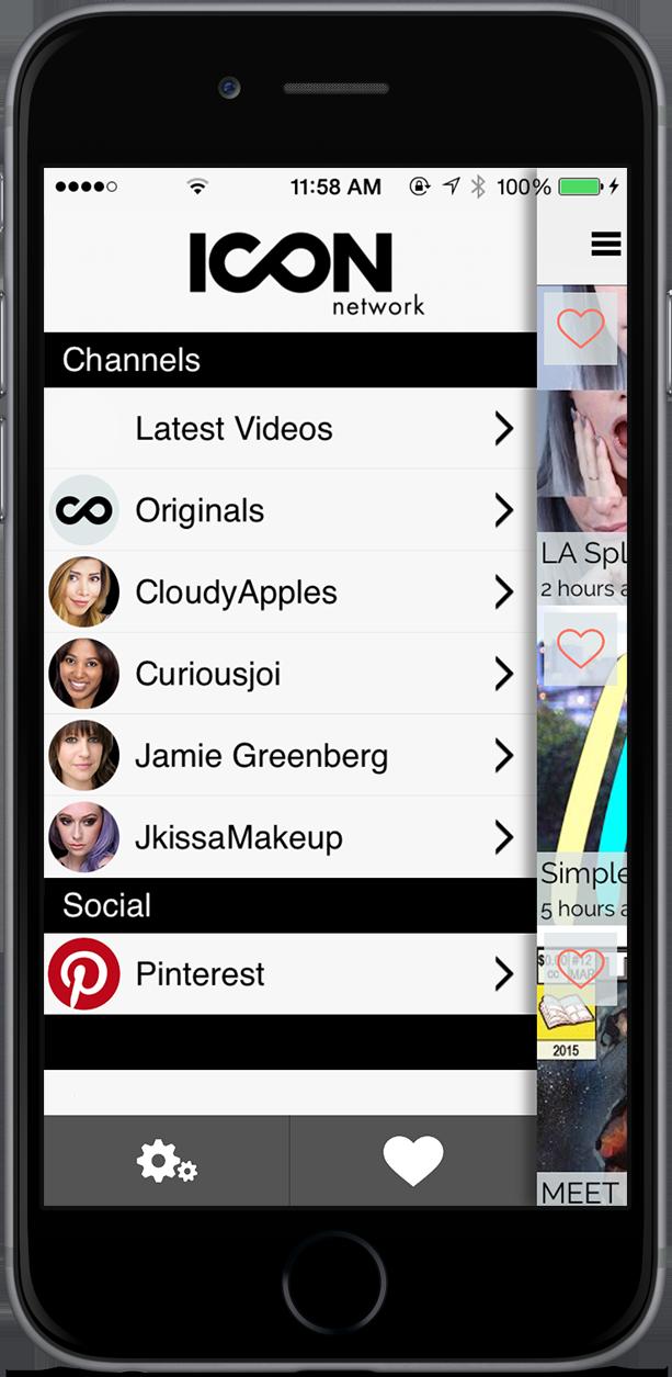 ICON network App